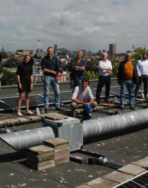 Afgerond project: collectief zonnedak de Abeel- en Valkenbosschool
